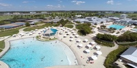 Wave Pool and Outdoor Pool Area